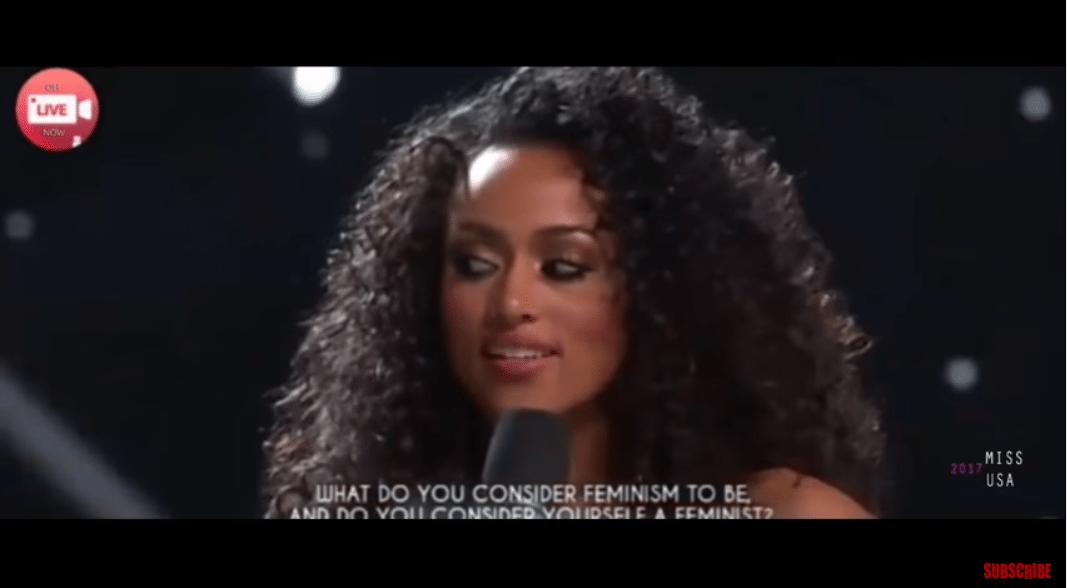 Miss USA, health care, feminism, SJW, melt down