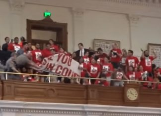 Texas state House threat