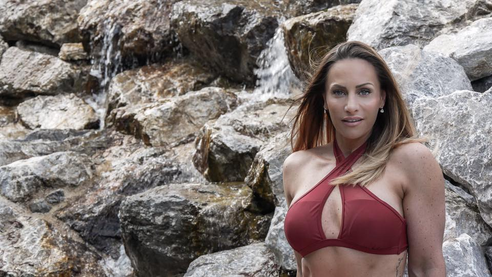 French fitness expert Rebecca Burger. (Facebook)