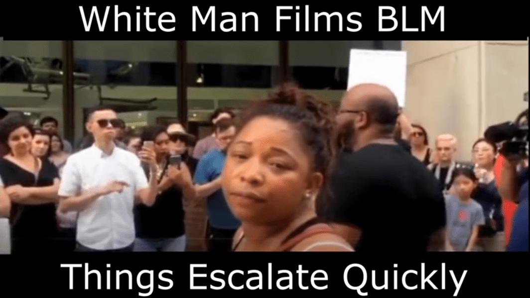 BLM Houston racist