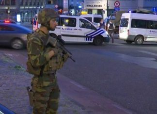 Belgium hit by terrorist, attacker shouted Allah Akbar