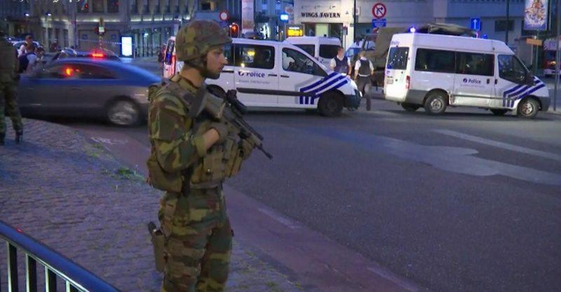 Belgium hit by terrorist, attacker shouted Allah Akbar