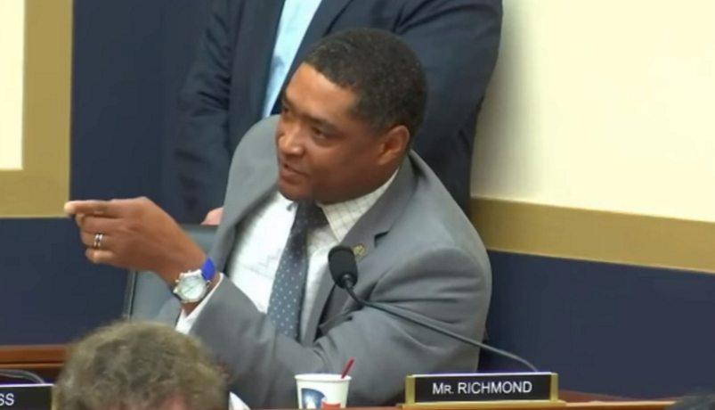 Video: Democrat Congressman Richmond Threatens Fellow Colleague