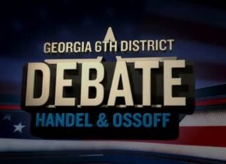 Handel, Ossoff Spar over Issues in Second Debate