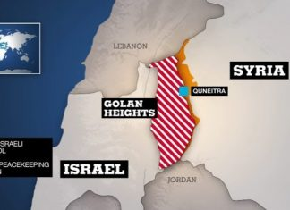 ISIS command taken out by one missile on Golan edge