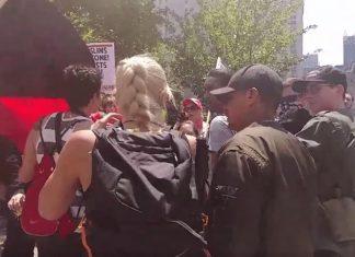 Antifa #MarchAgainstSharia