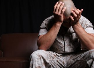 Veterans suffering from PTSD
