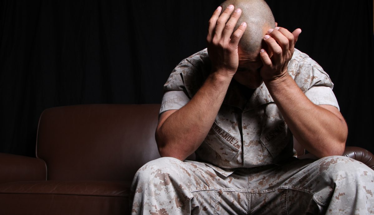 Veterans suffering from PTSD