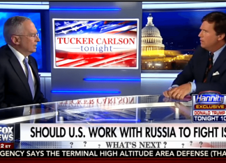 Tucker Carlson Ralph Peters Nazi apologist