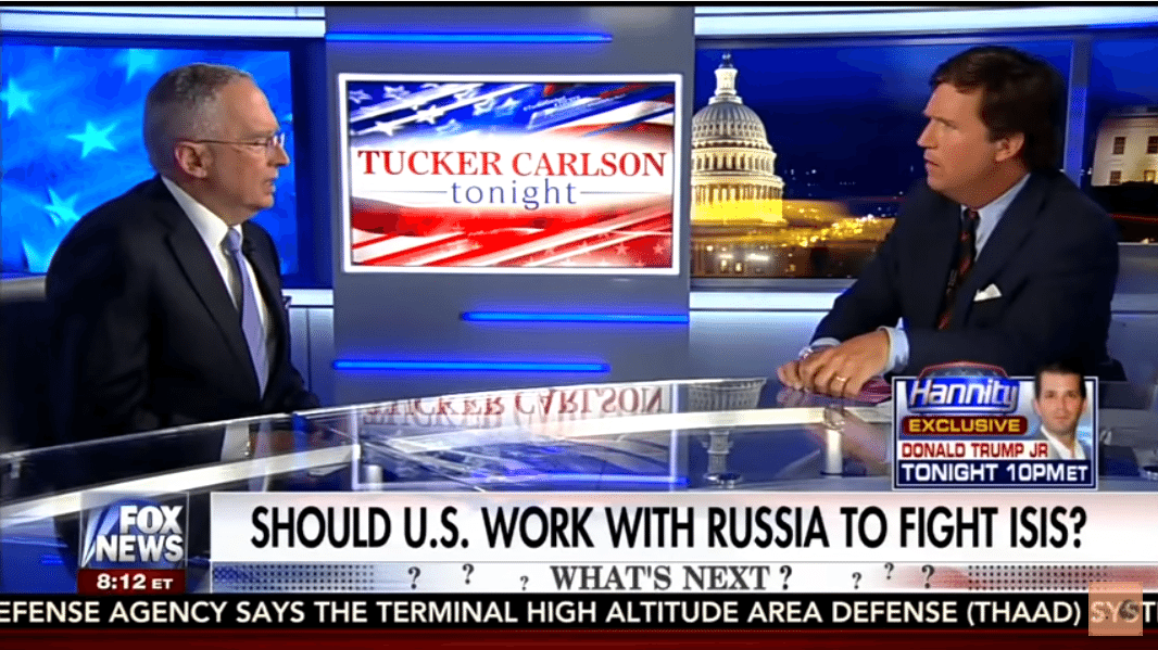 Tucker Carlson Ralph Peters Nazi apologist