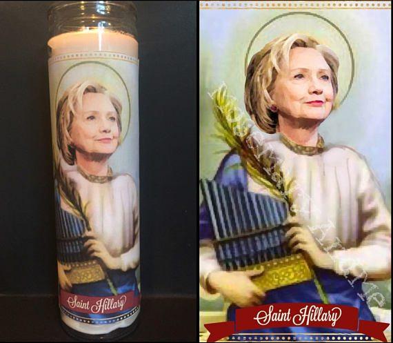Clinton candle