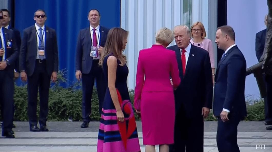 handshake fake news