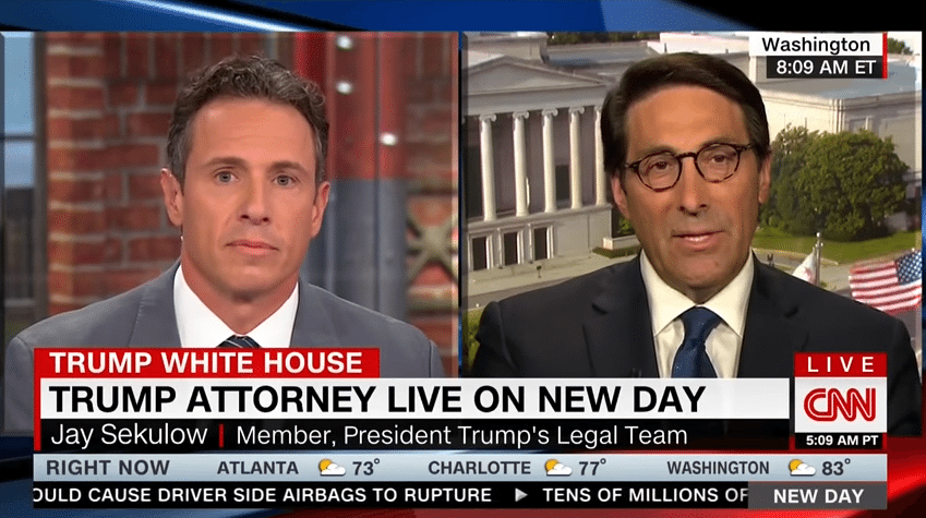 Chris Cuomo claims it's okay for Ukraine to meddle in election, give Hillary Clinton opposition research