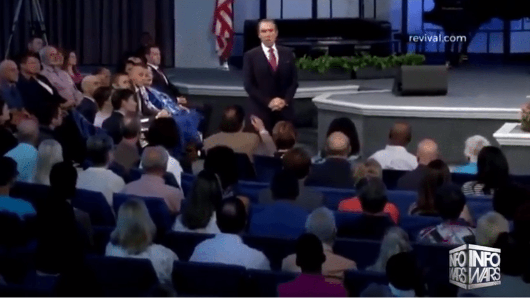 Pastor take Trump out suddenly