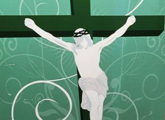 Jesus on cross hate crime