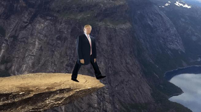 Trump cliff