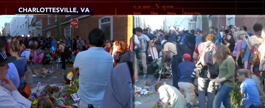 Video: Antifa Assaults Black Conservative Student at Vigil for Charlottesville Victims