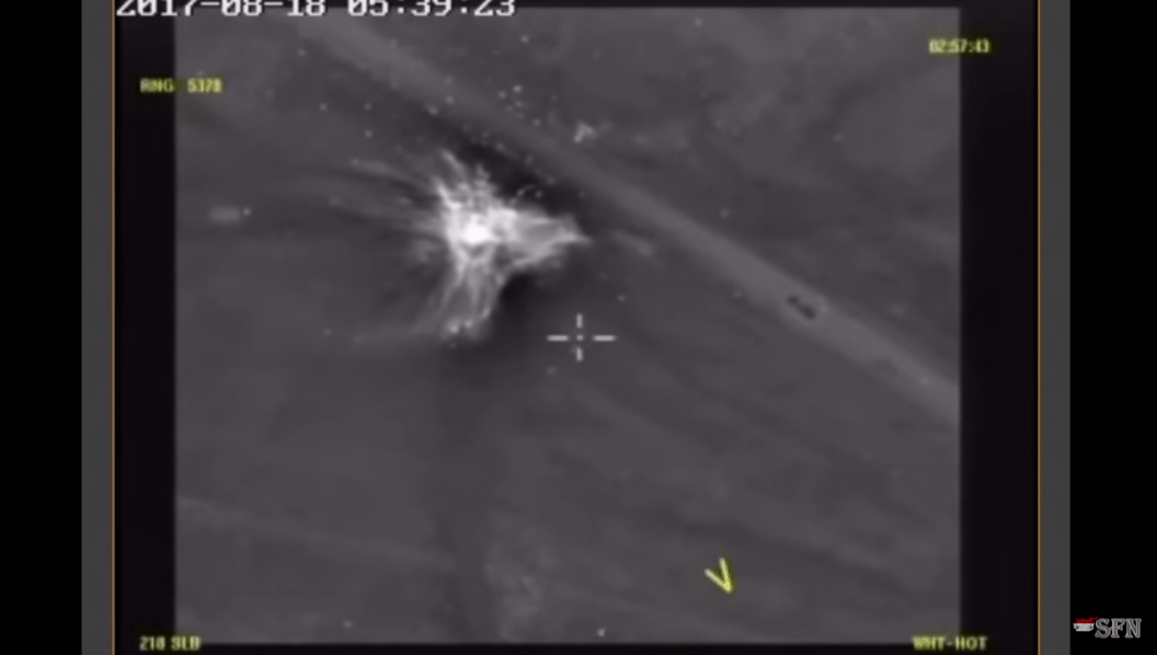 Watch Russian Bombs Wipe Out 200 ISIS With Bombs [VIDEO]