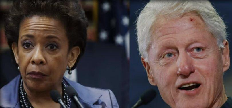 DOJ Blacks Out Talking Points on Lynch-Clinton Tarmac Meeting