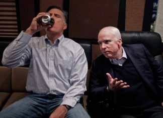 Romney McCain Antifa