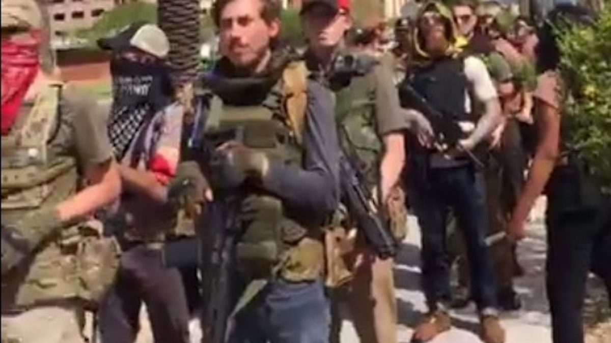 lies armed charlottesville
