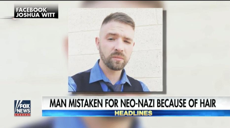 Antifa neo-Nazi haircut