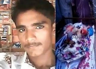 student beaten to death as teacher read newspaper