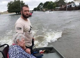Cajun Navy Red Cross Hurricane Harvey