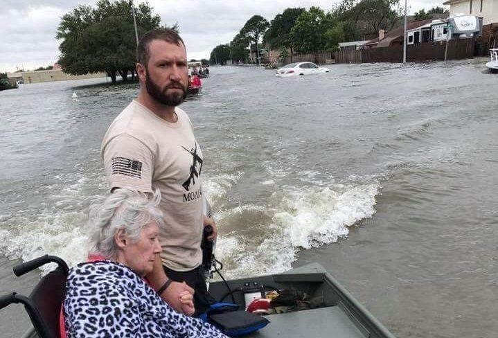 Cajun Navy Red Cross Hurricane Harvey