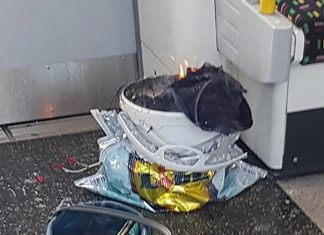 Bucket bomb London