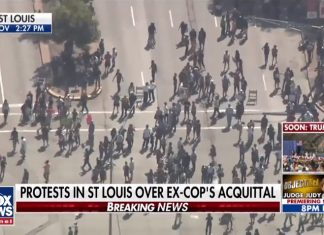 St Louis protest Jason Shockley