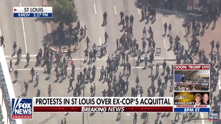 St Louis protest Jason Shockley