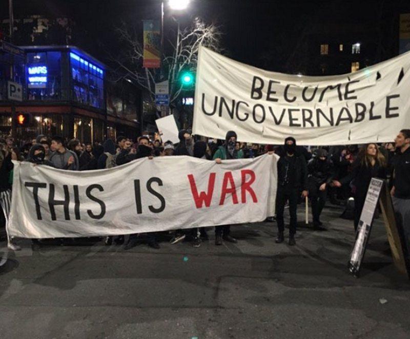 antifa plans