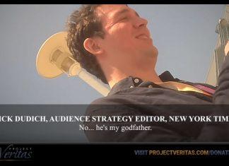 NYT editor bias Project Veritas
