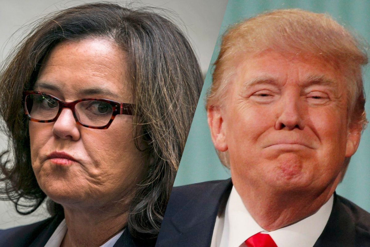 Rosie O'Donnell Donald Trump