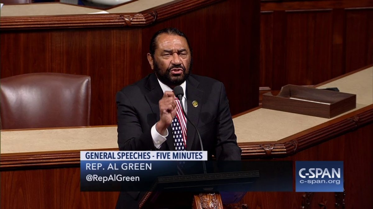 Rep. Al Green slept with staffer, sued her afterward, Trump impeachment