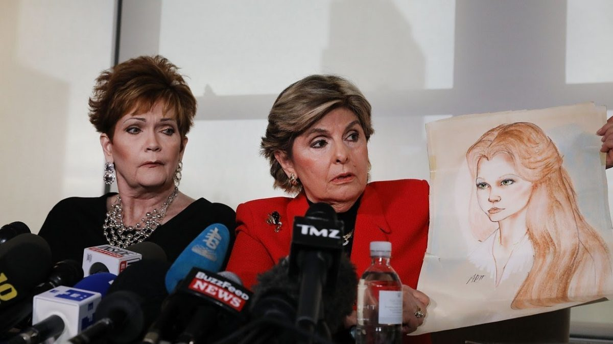 Gloria Allred Nelson Moore accuser