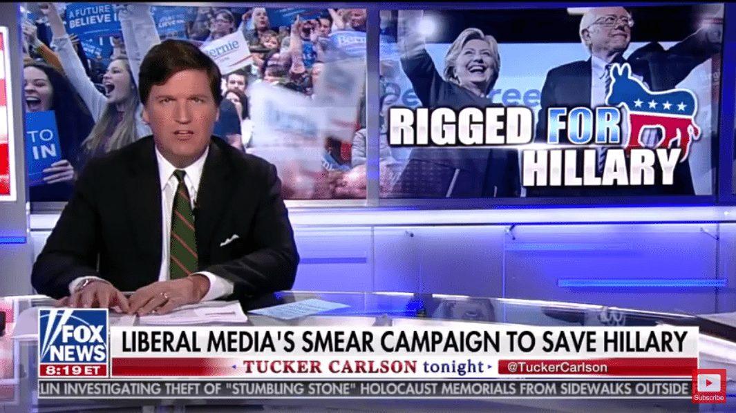 Tucker Carlson Donna Brazile CNN