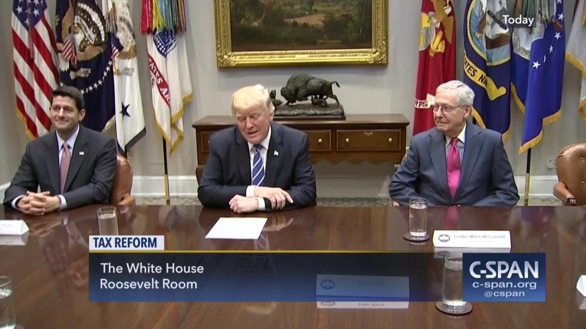 President Trump reaches compromise with Congress on Tax Reform