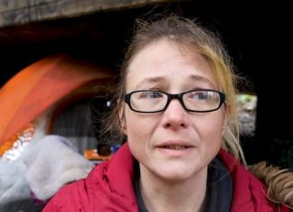 System fails woman who's now living on the streets