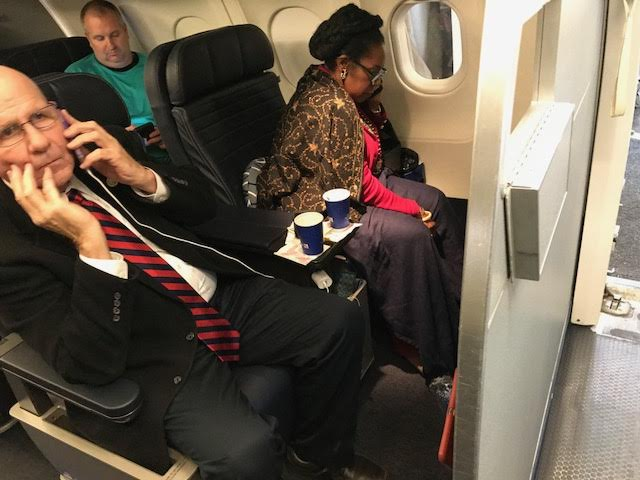 Sheila Jackson Lee United Airlines