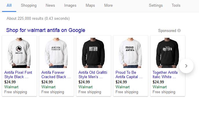 Walmart Antifa