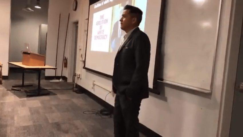 Diablo Valley College prof Albert Ponce white supremacy