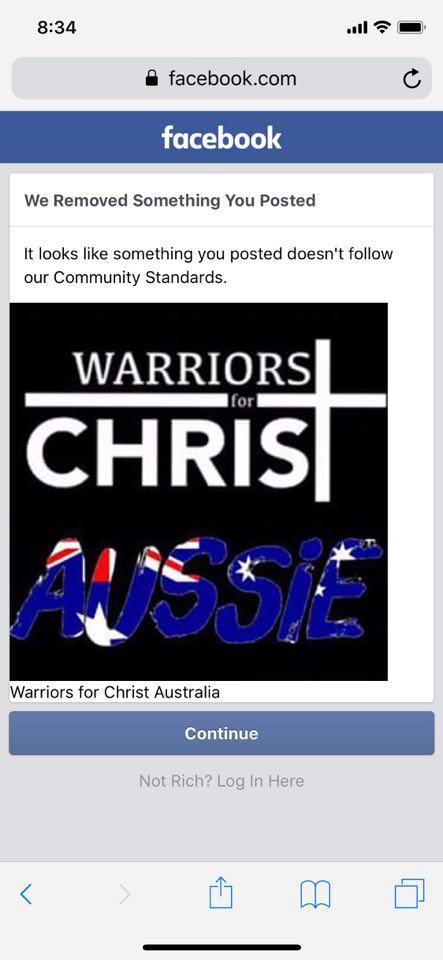 Christian Warriors for Christ