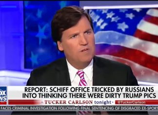 Tucker Carlson Adam Schiff