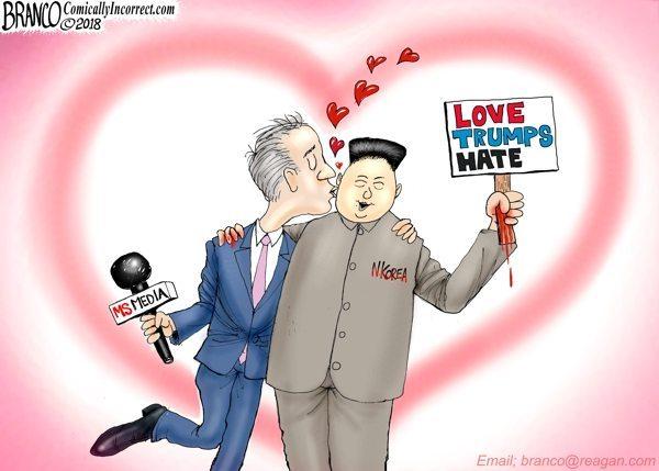 hearts afire media north Korea
