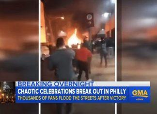 Philadelphia win celebrate Super Bowl