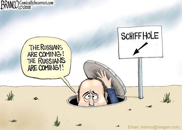 Schiff Doomsday prepper Russians
