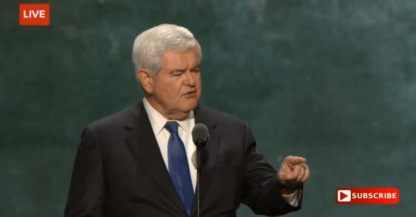 Gingrich: Thieves Who Stole Our Election Got Sloppy