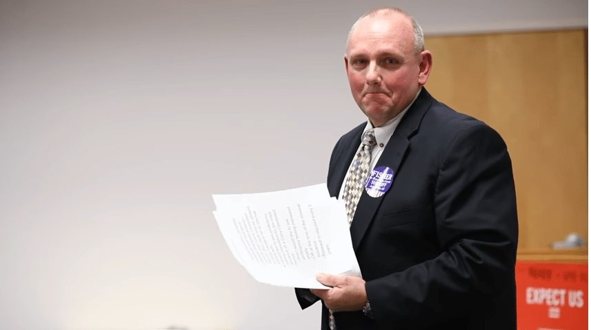 Democrat Sheriff candidate Daryl Fisher kill gun owners